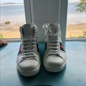 Gucci Ace high tops